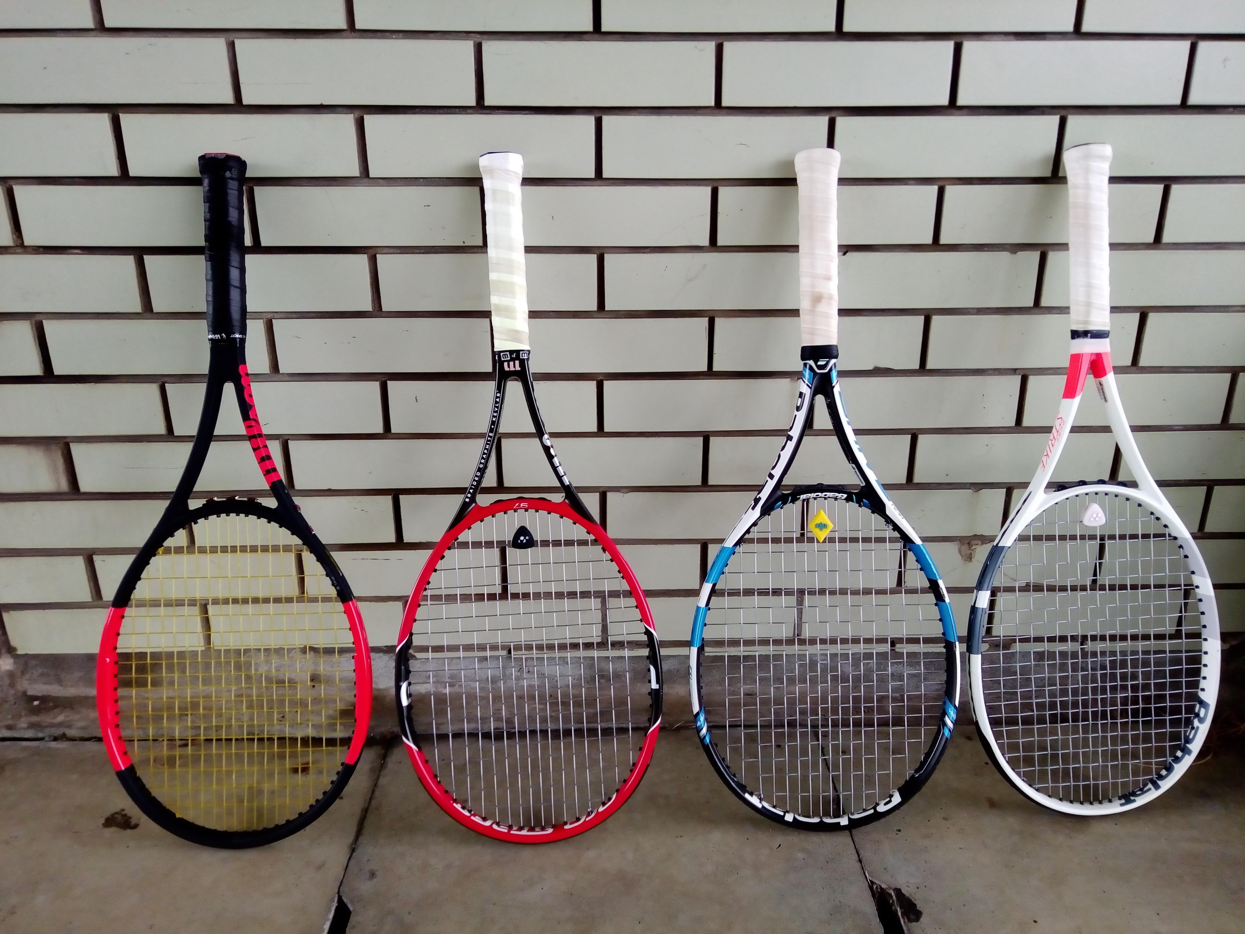 enjoy choosing a tennis racket