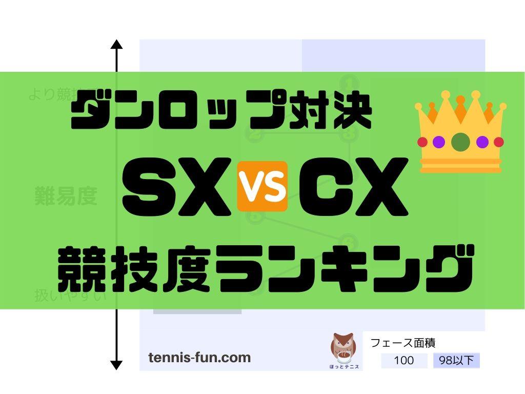 SXシリーズ vs. CXシリーズ 【競技度ランキング】SX300/CX200/CX400/他